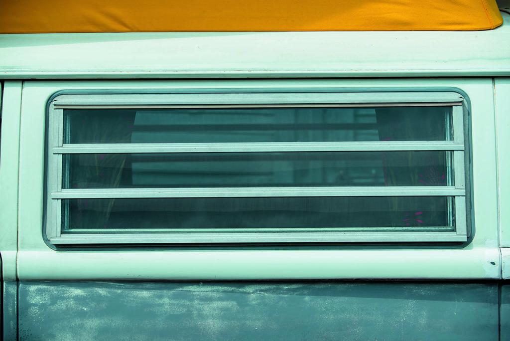 VW T2 Westfalia AB tuning rolety w oknach