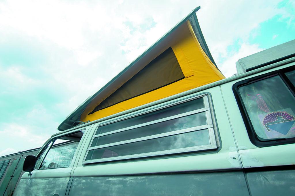 VW T2 Westfalia AB tuning namiot w dachu