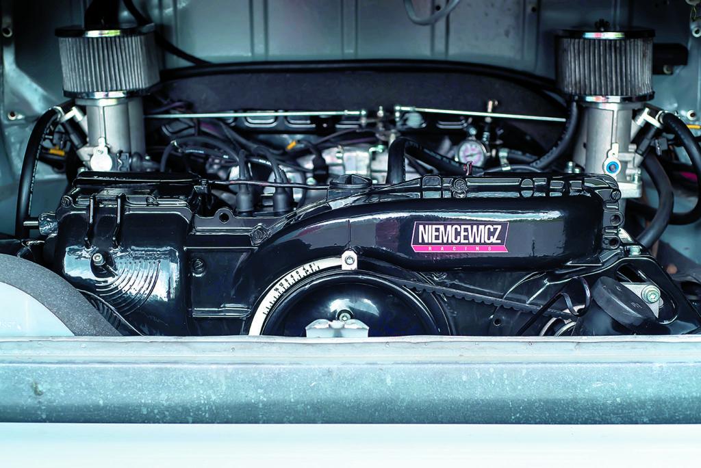 VW T2 Westfalia AB tuning silnik