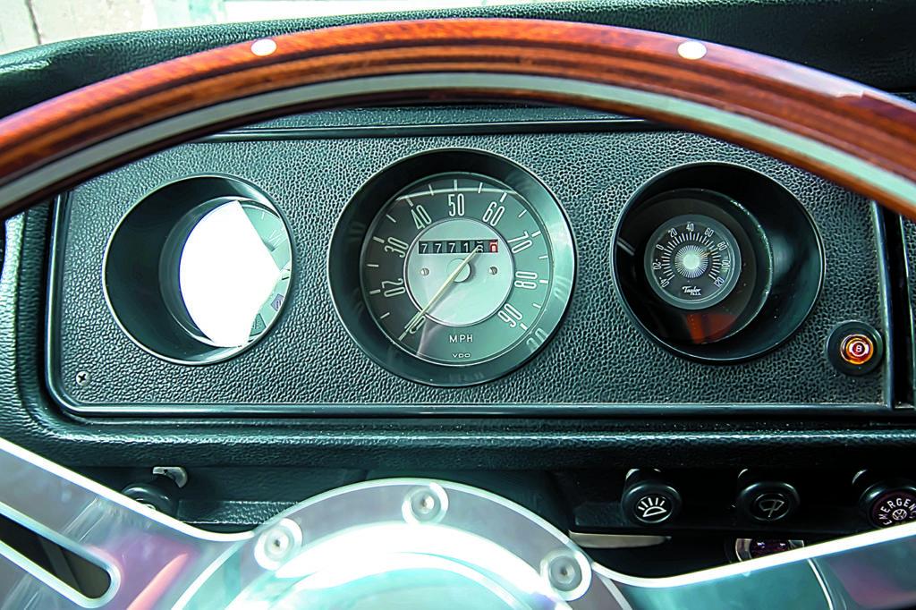 VW T2 Westfalia AB tuning zegary