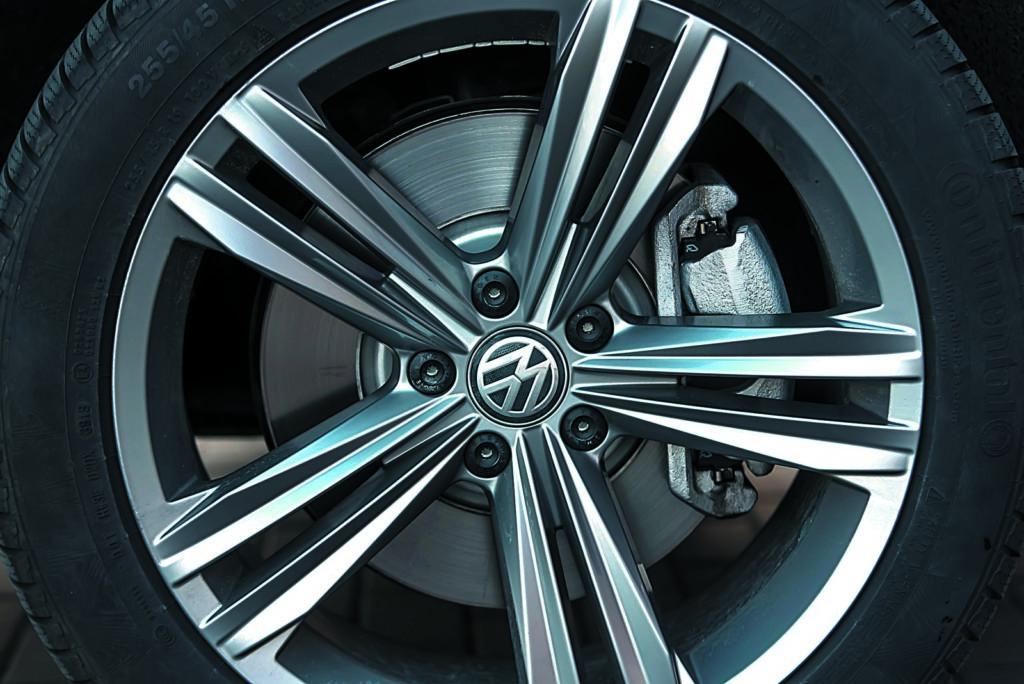 VW Tiguan 2.0 TSI koło