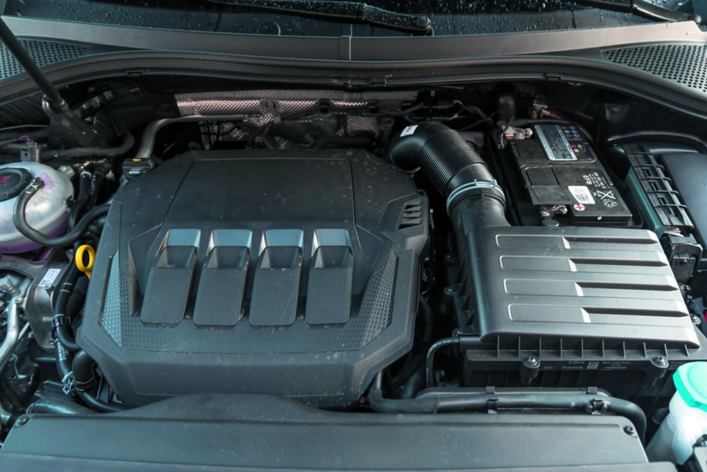 VW Tiguan 2.0 TSI silnik