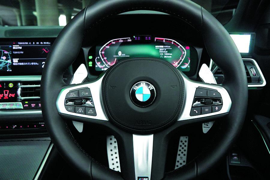 Tuning BMW serii 3 kierownica