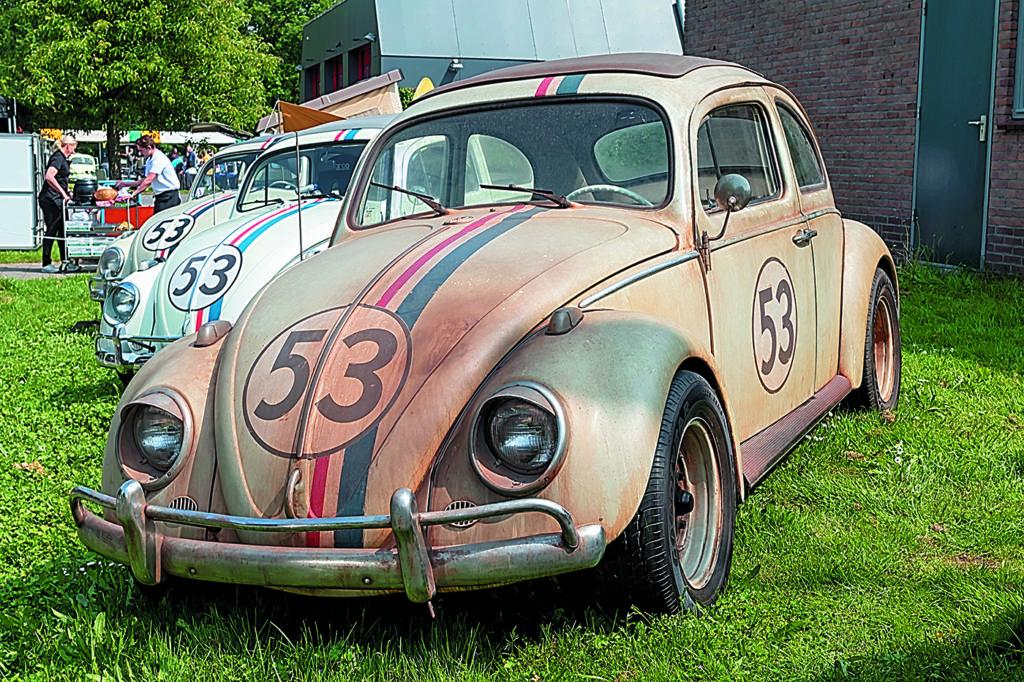 VW Garbus Herbie z numerem 53