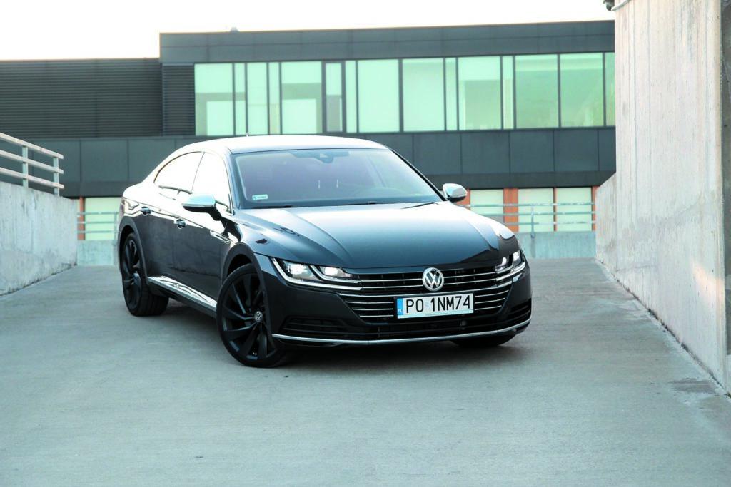 Volkswagen Arteon 2.0 TSI 4Motion widok z przodu