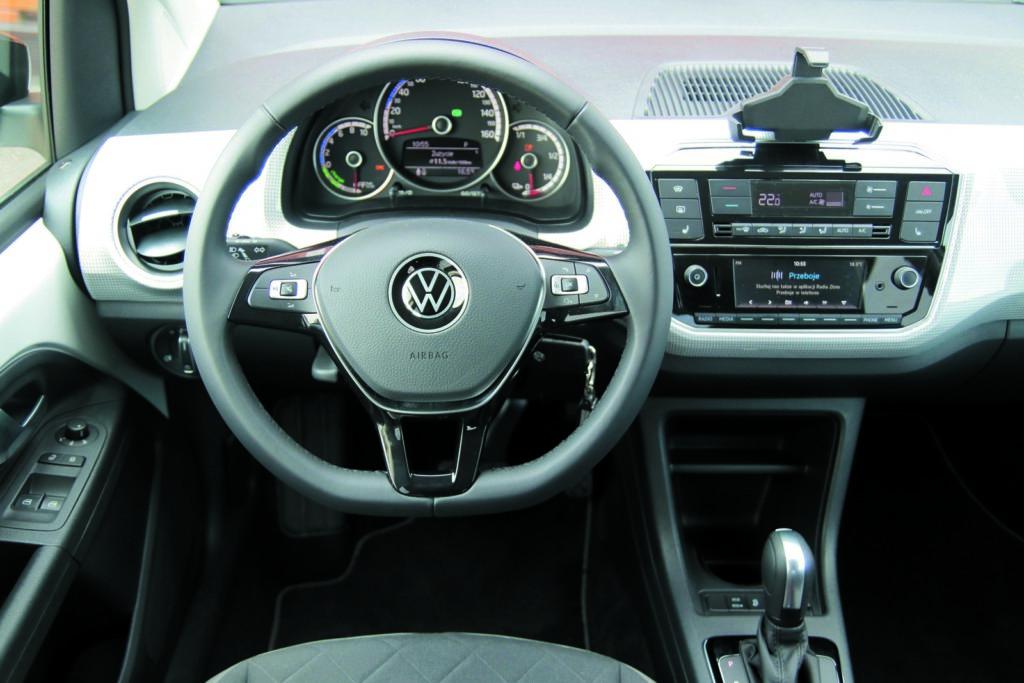 VW e-up! kokpit