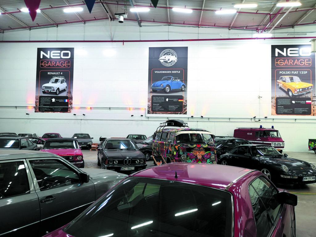 Neo Garage widok ekspozycji