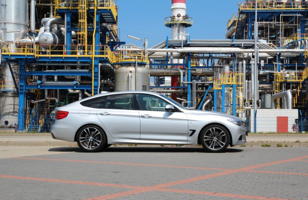 BMW 3 GT F34 widok z boku