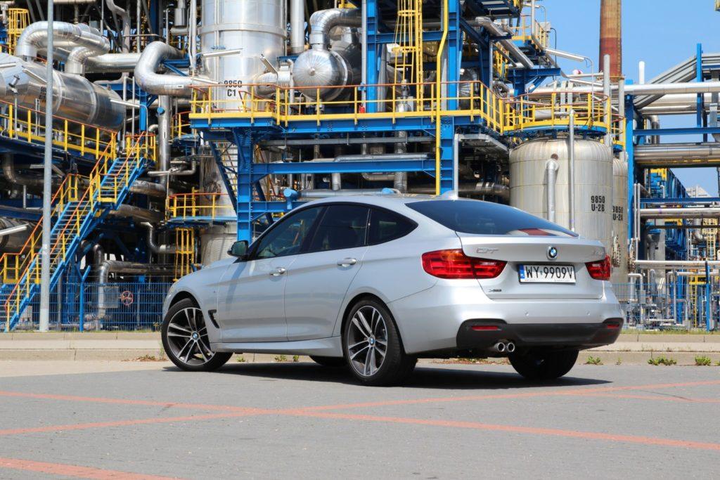BMW 3 GT F34 widok z tyłu
