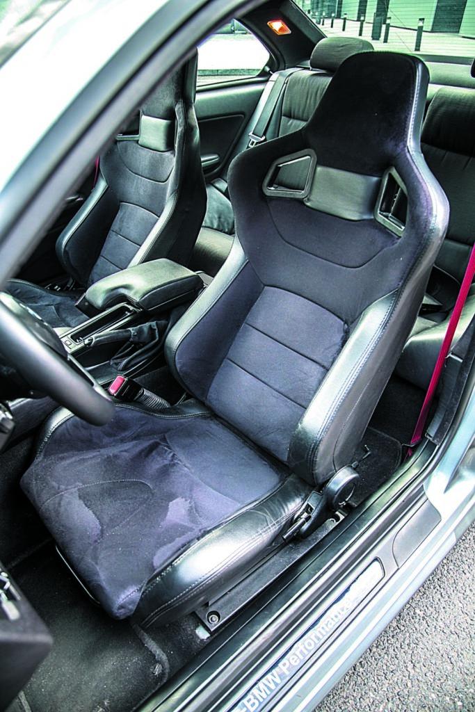 BMW E46 320d tuning fotel kierowcy