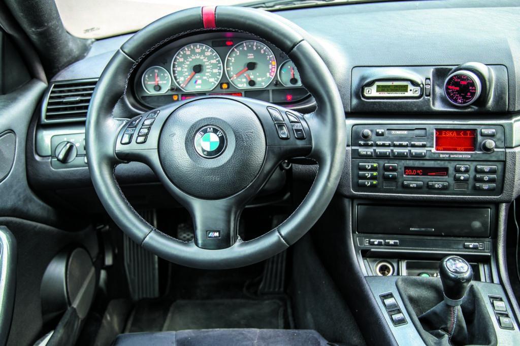 BMW E46 320d tuning deska rozdzielcza