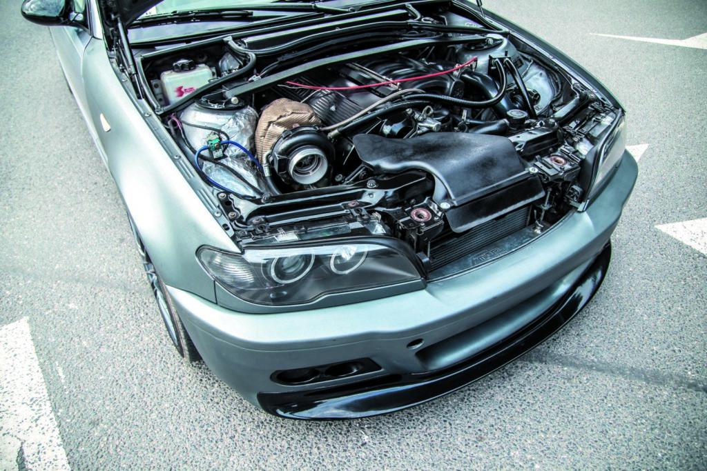 BMW E46 320d tuning silnik po swapie