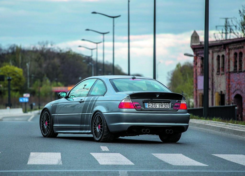 BMW E46 320d tuning widok z tyłu
