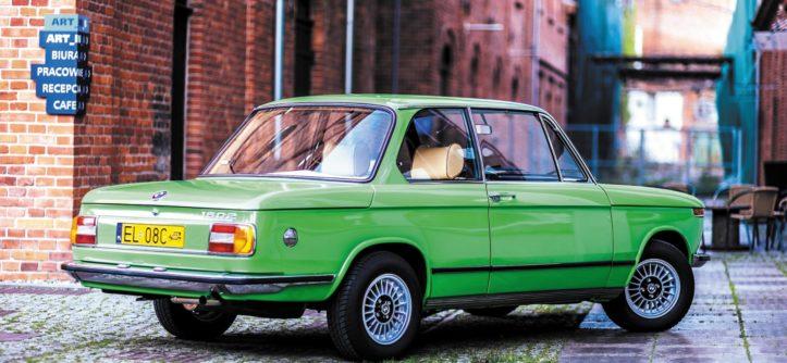 BMW 1502 widok z tyłu