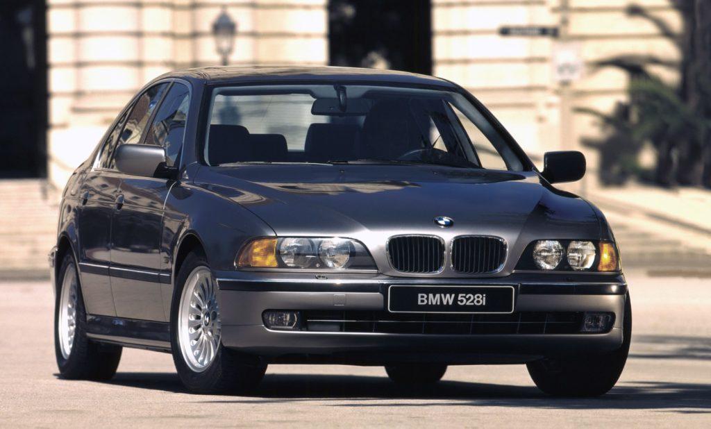 BMW E39 528i widok z przodu