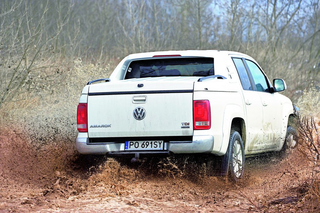 VW AMAROK w terenie