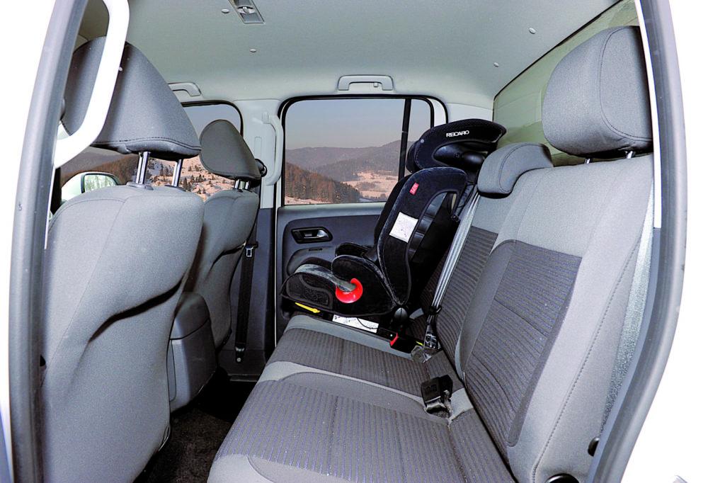 VW AMAROK tylna kanapa