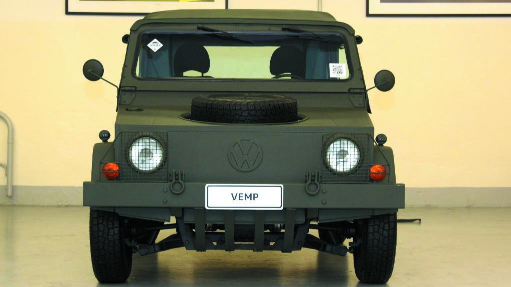 VW VEMP widok z przodu