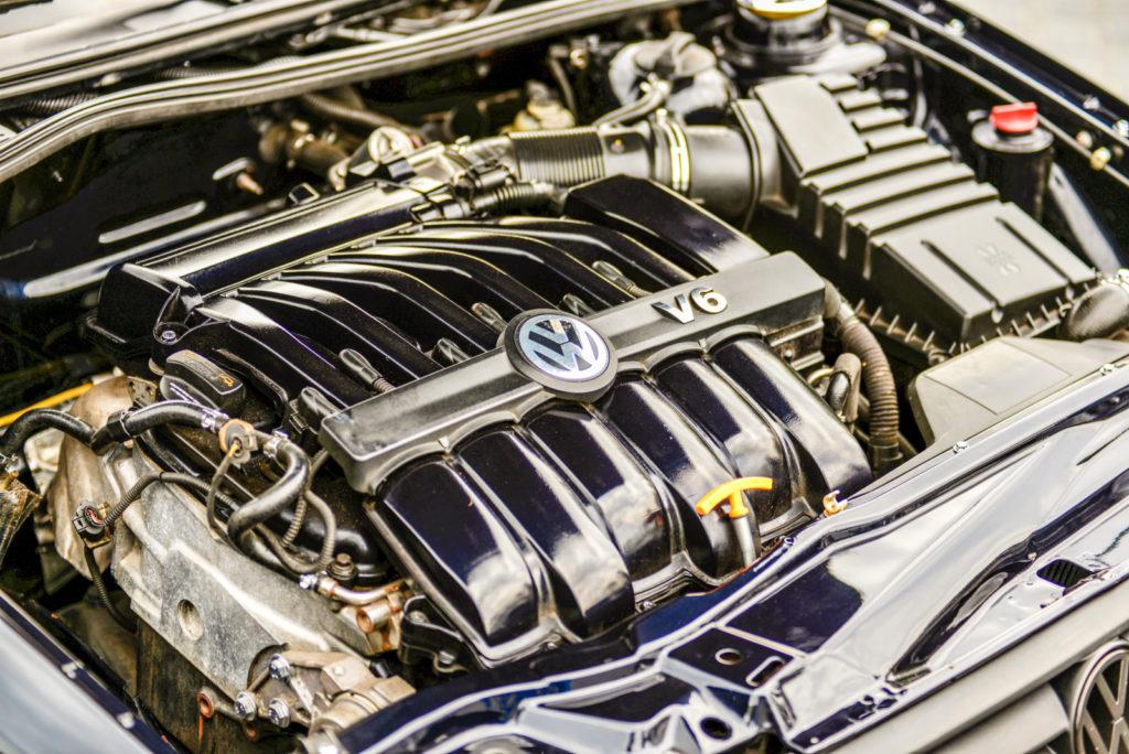 VW Corrado R36 4-Motion silnik V6