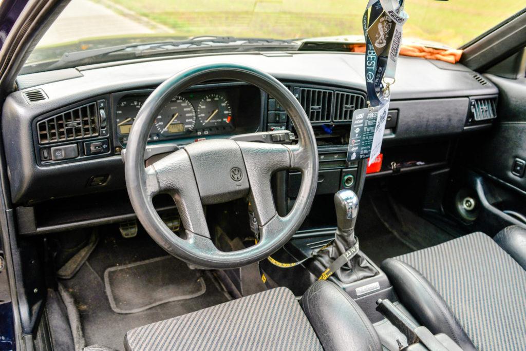 VW Corrado R36 4-Motion kokpit