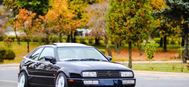 VW Corrado R36 4-Motion widok z przodu