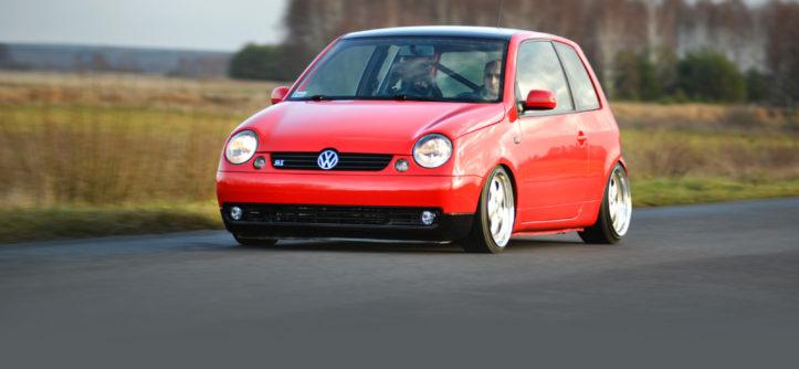 VW Lupo GT widok z przodu