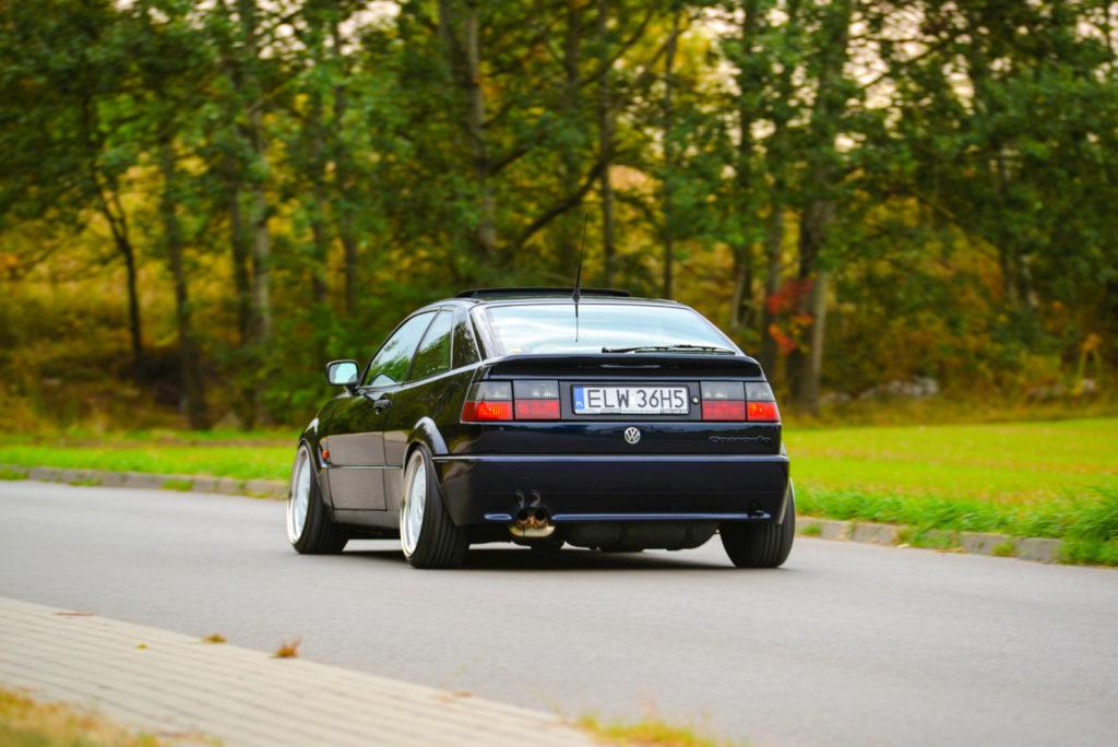 VW Corrado R36 4-Motion widok z tyłu