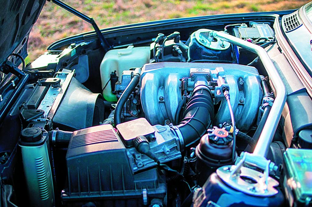 BMW E30 318 iS silnik po swapie na M42B18