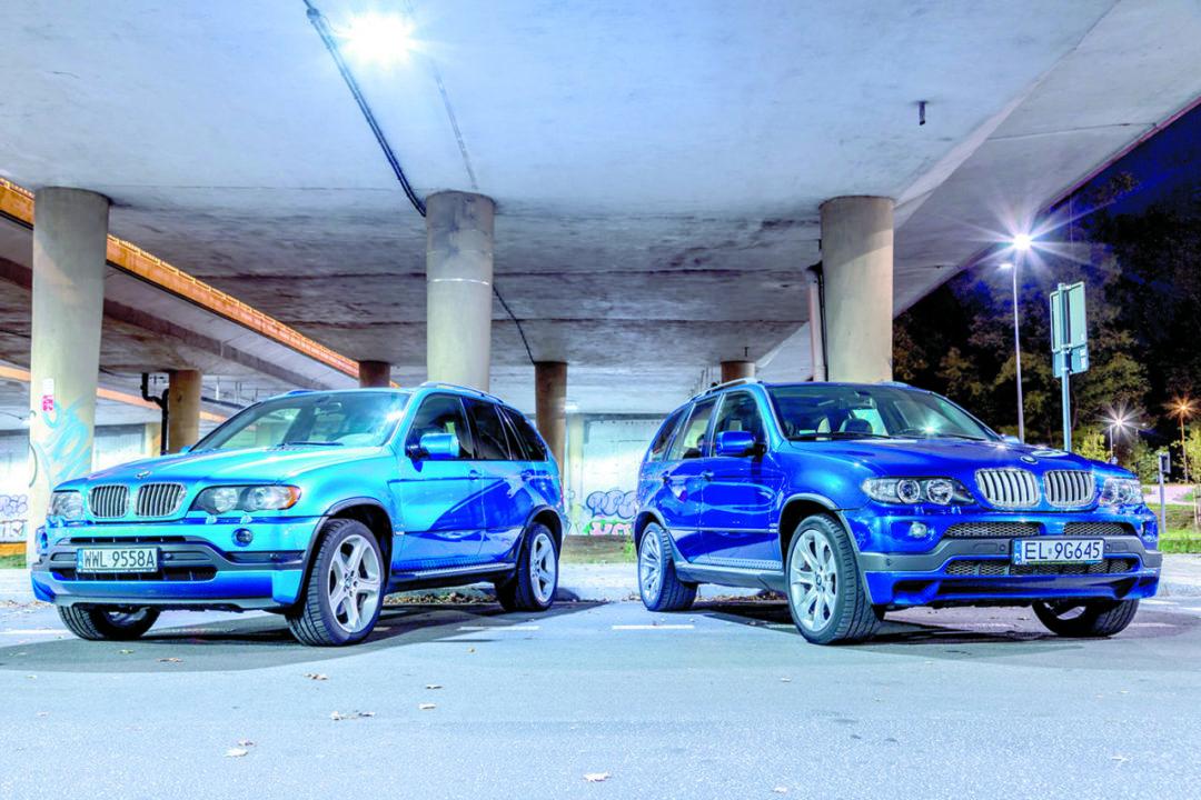 BMW X5 E53 4.6 is i BMW X5 E53 4.8 is od przodu