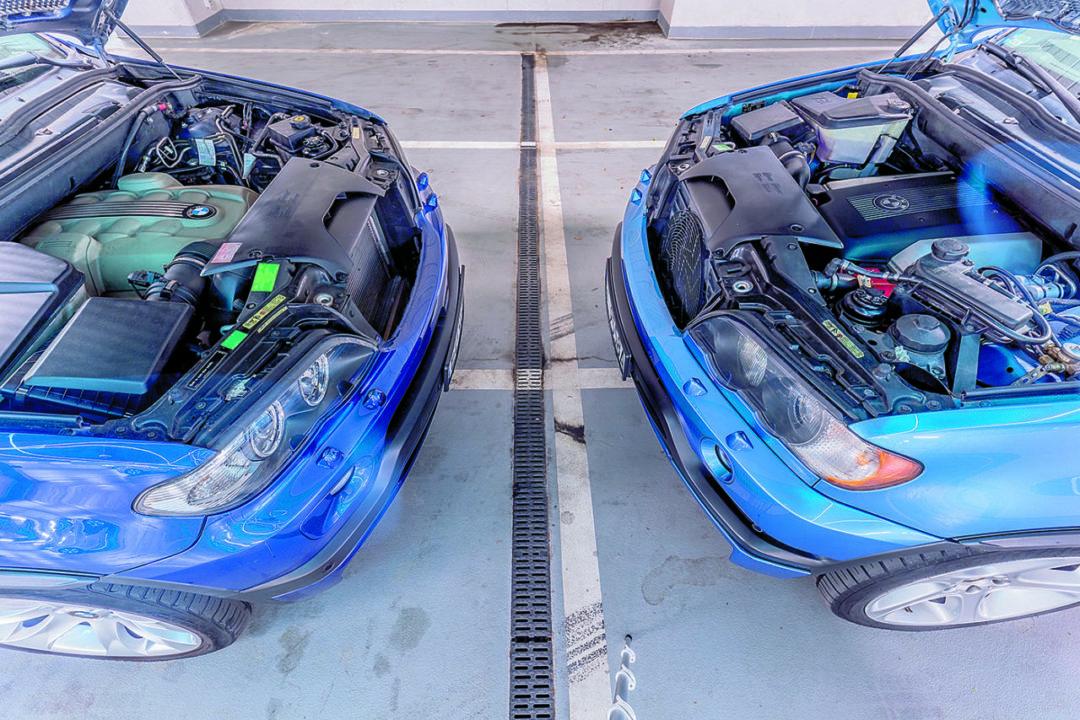 BMW X5 E53 4.6 is i BMW X5 E53 4.8 is silniki