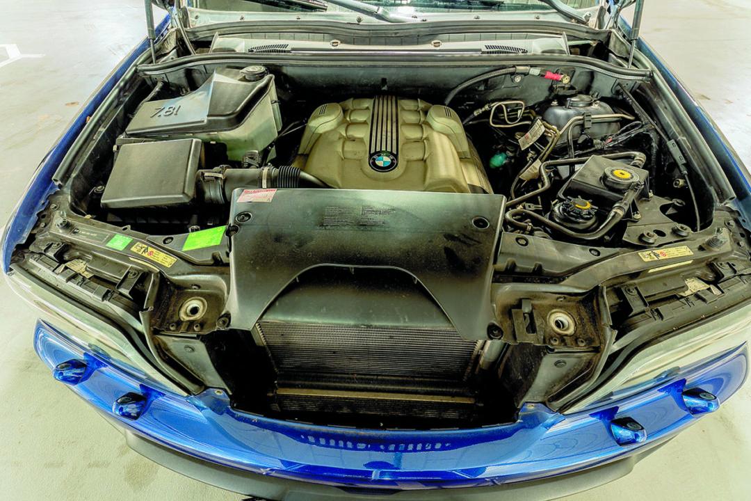 Silnik BMW X5 E53 4.8 is