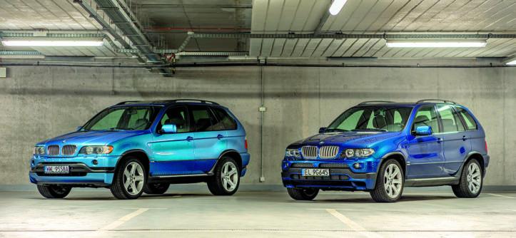 BMW X5 E53 4.6 is i BMW X5 E53 4.8 is