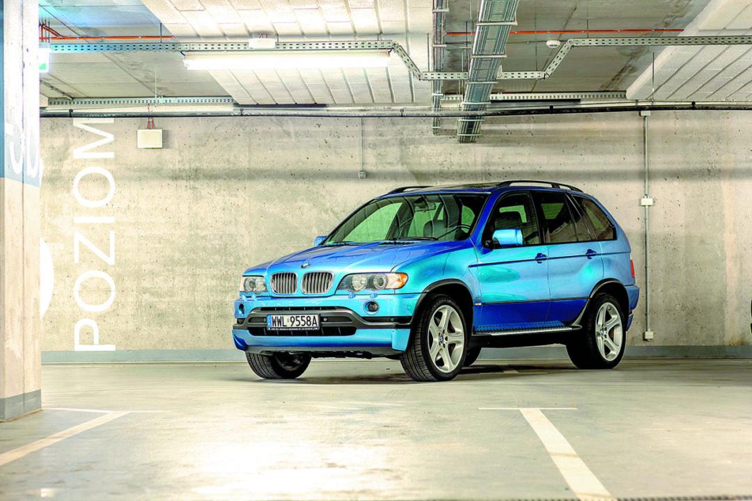 BMW X5 E53 4.6 is