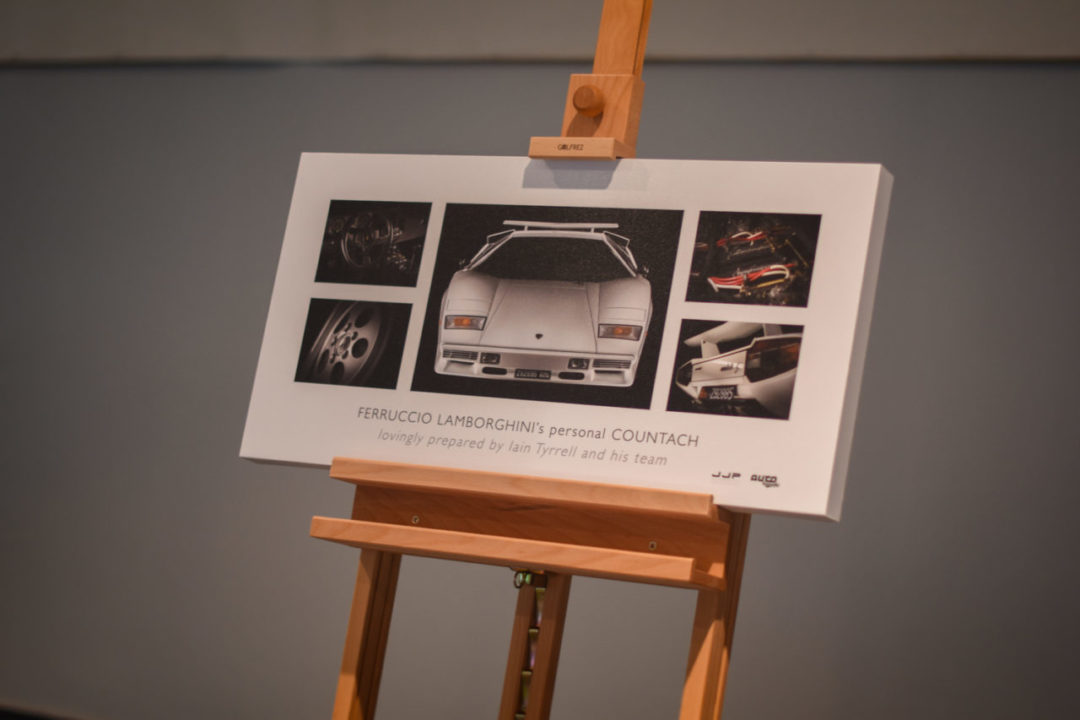 tablica Lamborghini Countach
