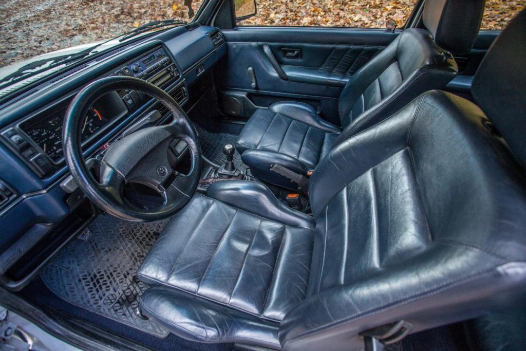 VW Golf Mk 2 GTD przednie fotele