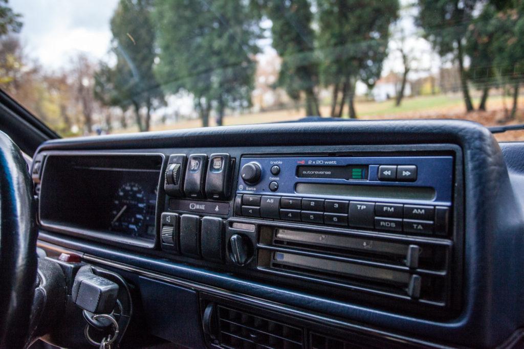 VW Golf Mk 2 GTD kokpit