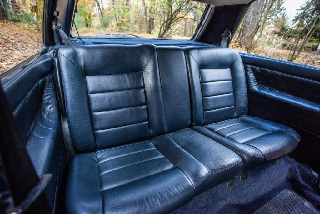 VW Golf Mk 2 GTD tylna kanapa