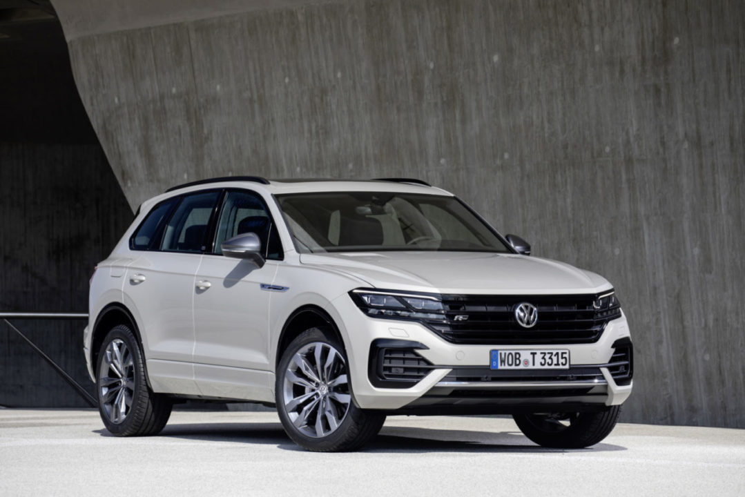 Volkswagen Touareg special model ONE Million