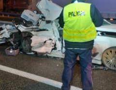 BMW wypadek 2