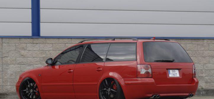 VW Passat B5 tuning od tyłu