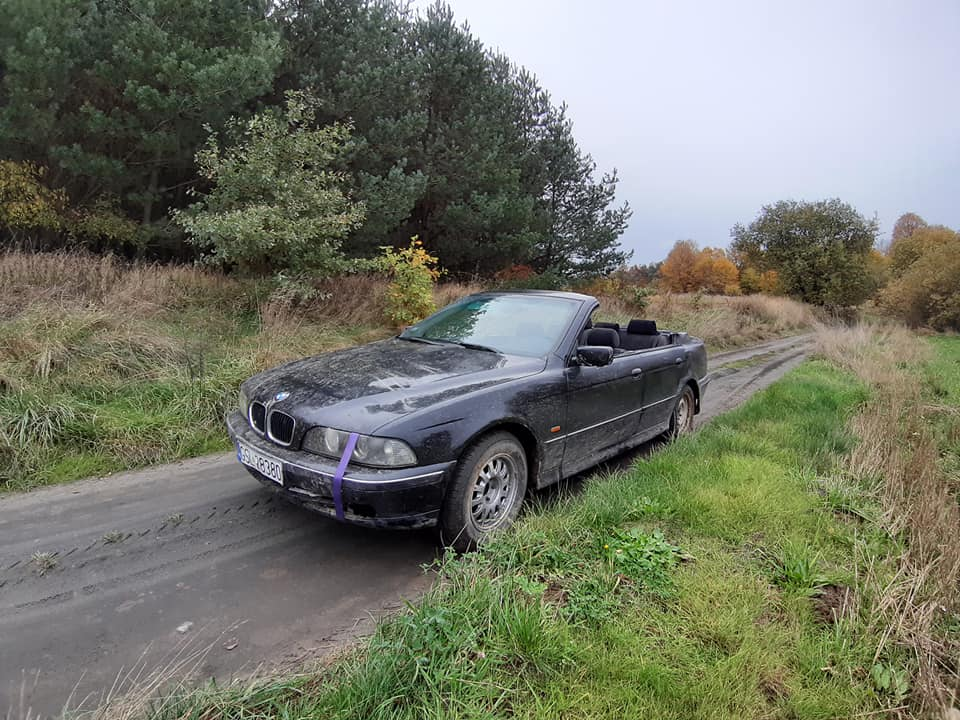 BMW E39 kabriolet