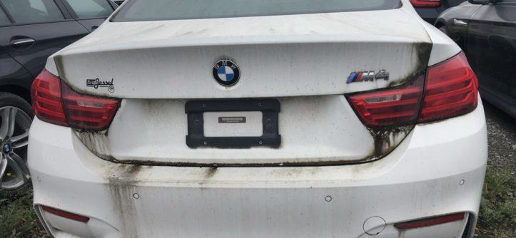 BMW Alpina B5 E601 M6 batmobil