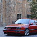VW Golf III GTI Edition tuning widok z przodu