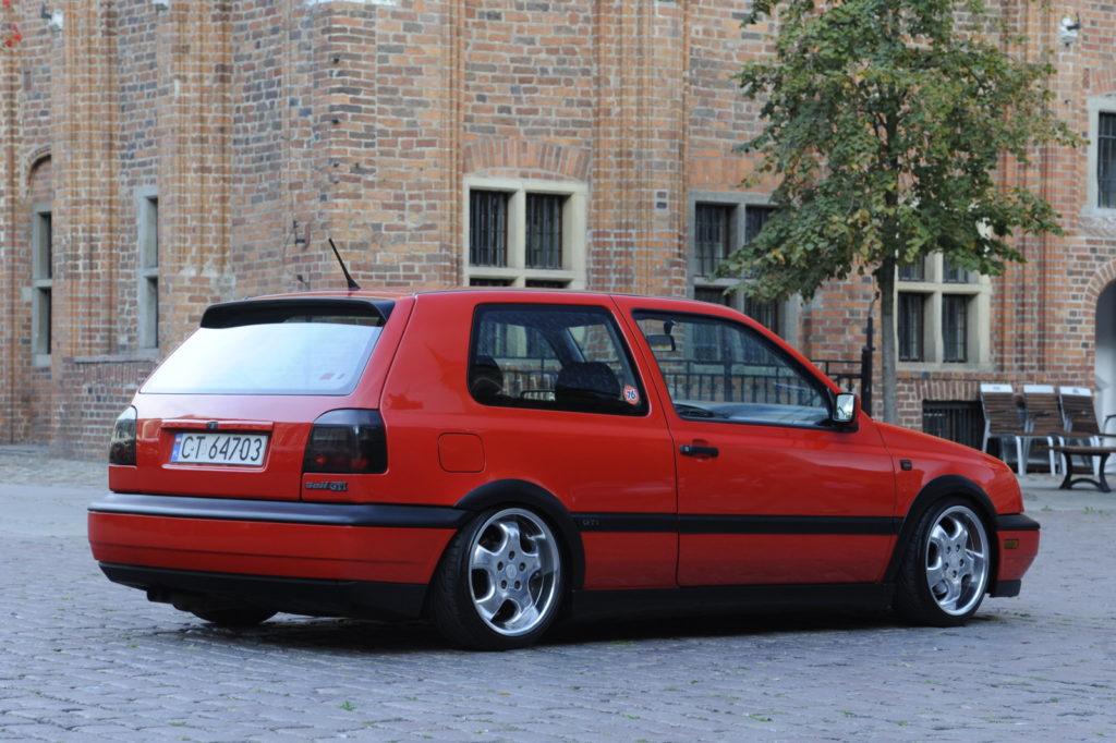 VW Golf III GTI Edition tuning widok od tyłu