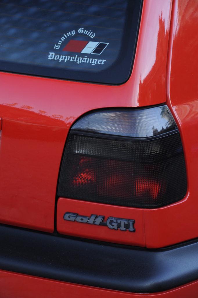 VW Golf III GTI Edition tuning tylna lampa