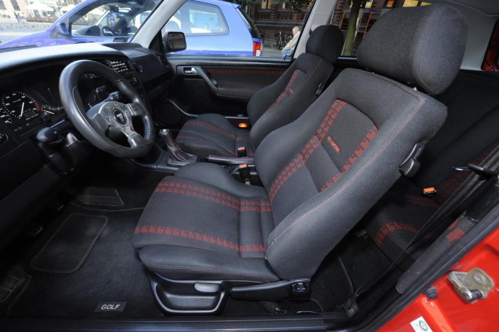 VW Golf III GTI Edition tuning przednie fotele