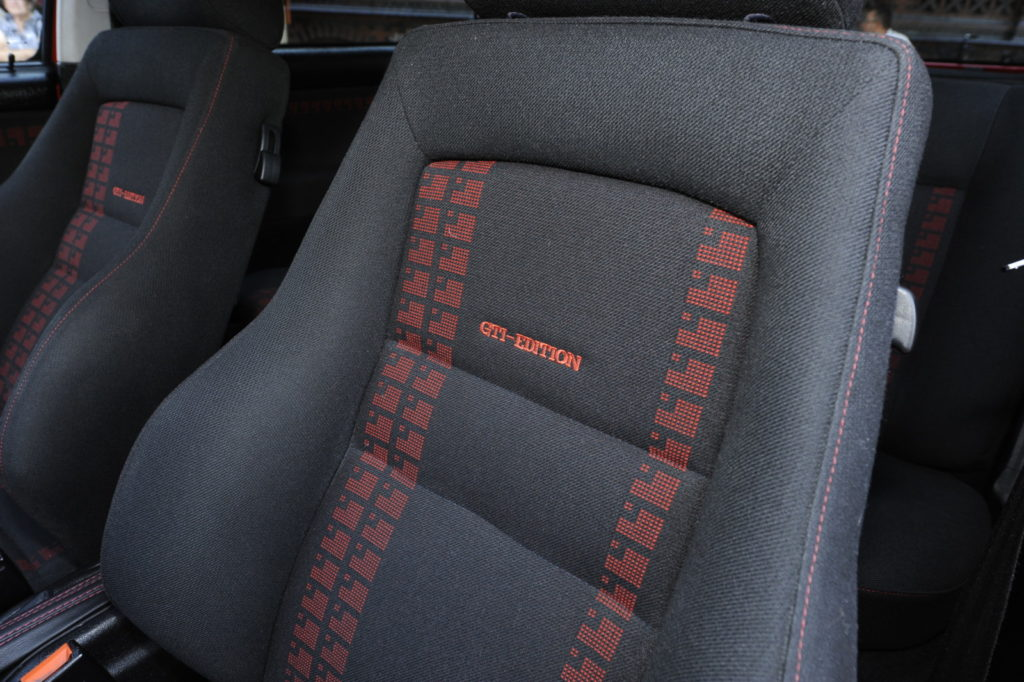 VW Golf III GTI Edition tuning obszycie fotela