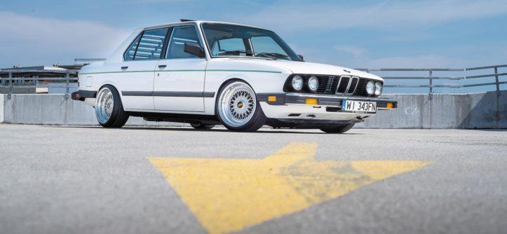 BMW E28 533i widok z przodu