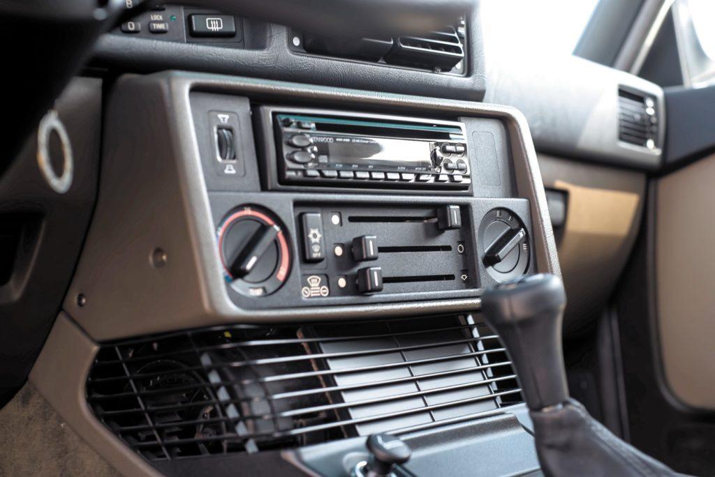 BMW E28 533i konsola środkowa