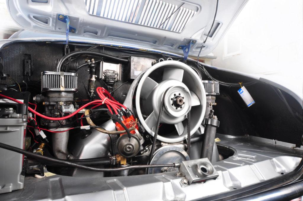 Karmann Ghia Typ 14 1971 r. silnik